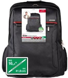 Escudo Notebook Backpack SL-6068-BK bis 41,6 cm (16,4 Zoll) schw
