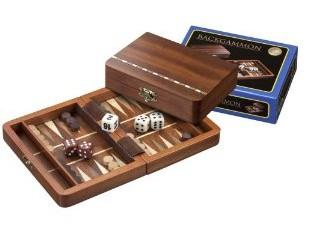 Philos 1301 - Backgammon Egina, mini, 15x11cm