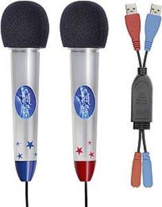 Speedlink SL-3473-DSDS Mikrofon Set DSDS für die Nintendo Wii®