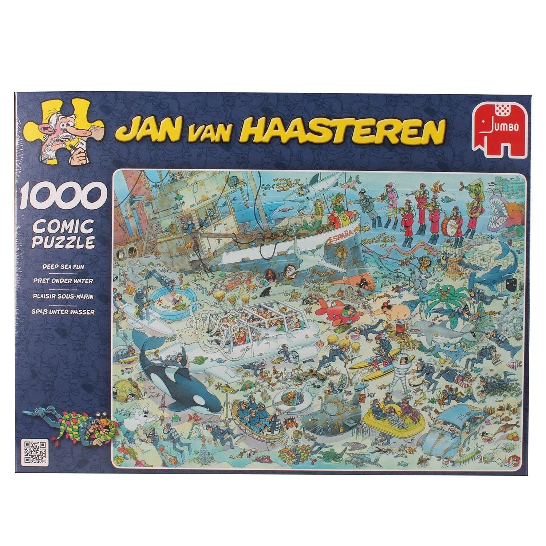 Jumbo Spiele 17079 - Jan van Haasteren: Unterwasserwelt, 1000 Te