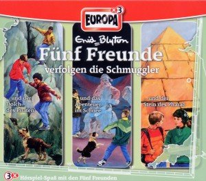 Fünf Freunde verfolgen die Schmuggler. Tl.15, 3 Audio-CDs