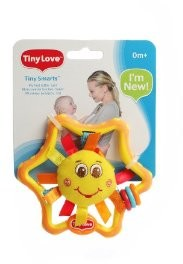 Jumbo Spiele T00012 - Tiny Love: Smarts, My first rattle-Sun