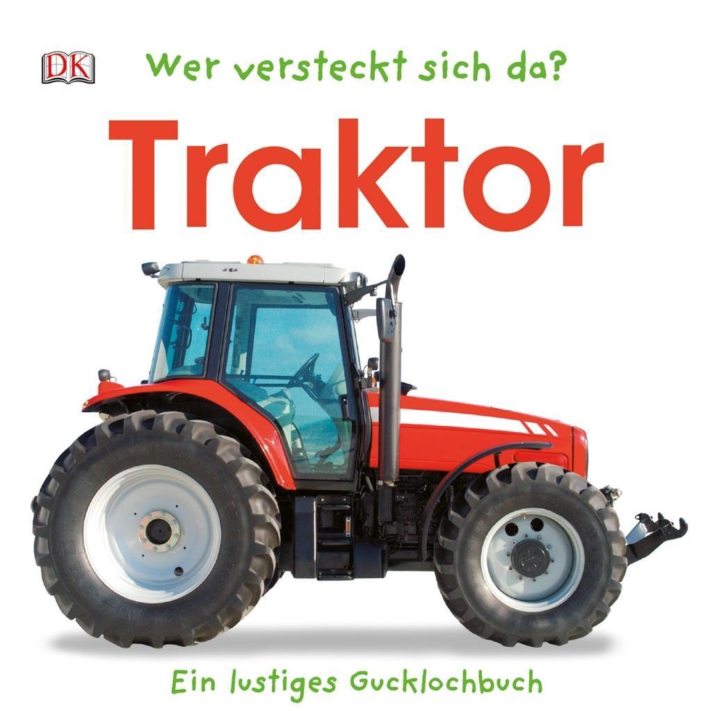 Wer versteckt sich da? Traktor