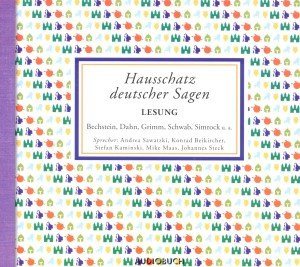 Hausschatz deutscher Sagen, 4 Audio-CDs