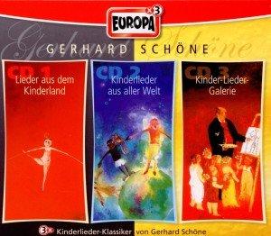 Gerhard Schöne Box, 3 Audio-CDs