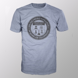 Heisenberg College (Shirt XL/Grey-Melange)