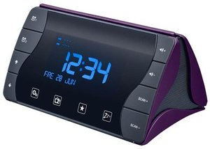 Radiowecker RR50 - violett