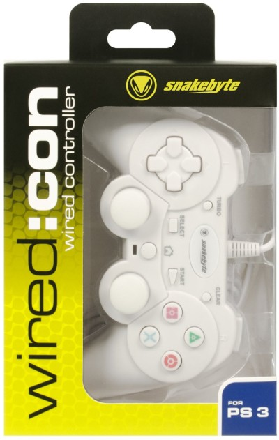 snakebyte WIRED:CON wired controller - Analog Controller - weiß
