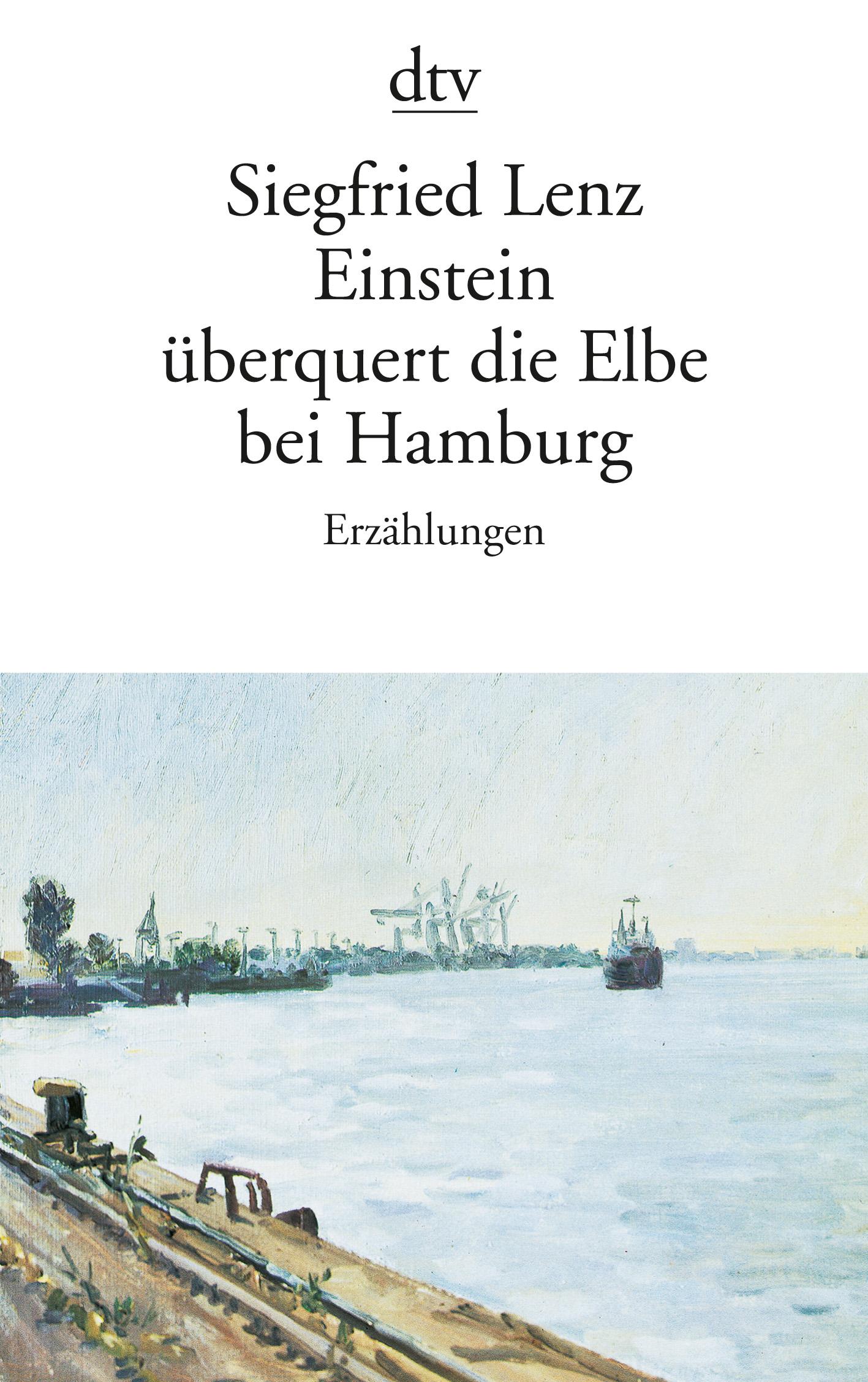 Einstein überquert die Elbe bei Hamburg