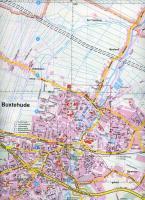 Falk Stadtplan Extra Standardfaltung Buxtehude