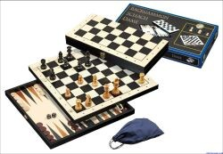 Philos 2514 - Schach-Backgammon-Dame-Set