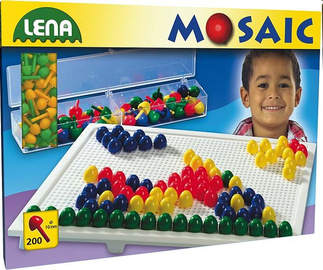 Lena 35537 - Mosaic Set Color, 1 cm, groß