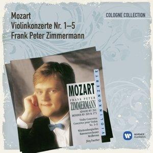 Zimmermann, F: Violinkonzerte 1-5