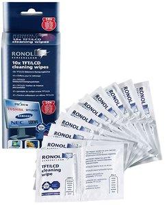 RONOL TFT-LCD-Plasma Bildschirm-Reiniger Doppel-Portionspackung