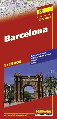 Barcelona / Barcelone 1 : 15 000