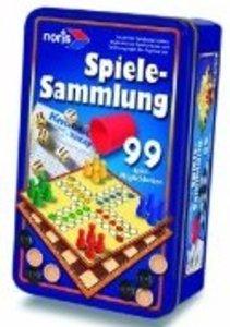 99iger-Spielesammlung in Metallbox
