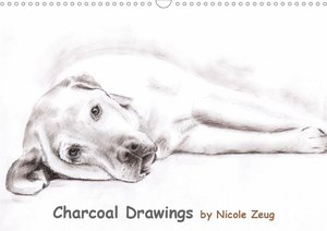Charcoal Drawings (Wandkalender 2021 DIN A3 quer)