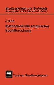 Methodenkritik empirischer Sozialforschung