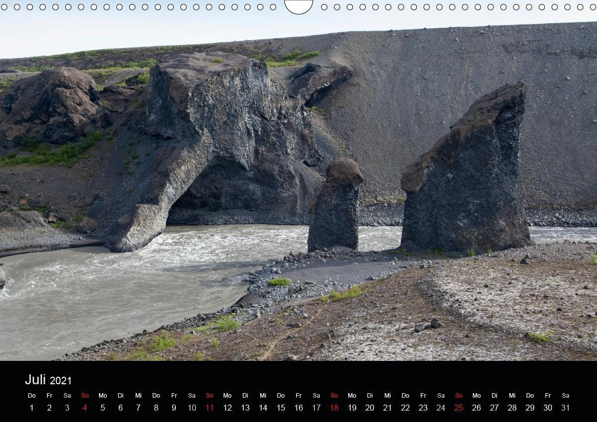 Island (Wandkalender 2021 DIN A3 quer)
