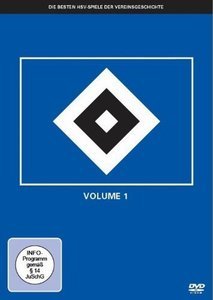 HSV - Die besten HSV-Spiele der Vereinsgeschichte, 5 DVDs. Vol.1