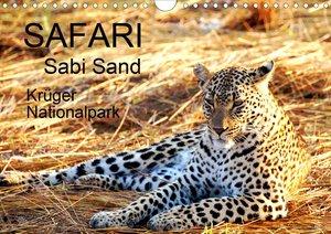 Safari / Afrika (Wandkalender 2021 DIN A4 quer)