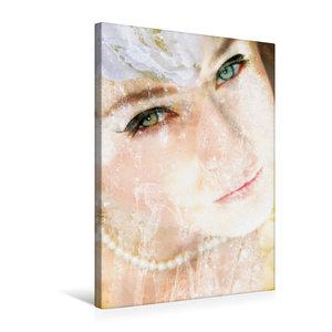 Premium Textil-Leinwand 50 cm x 75 cm hoch Portrait einer Wasser