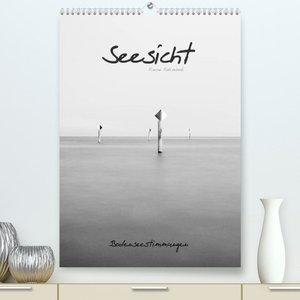 Seesicht - Bodenseestimmungen (Premium, hochwertiger DIN A2 Wandkalender 2022, Kunstdruck in Hochglanz)