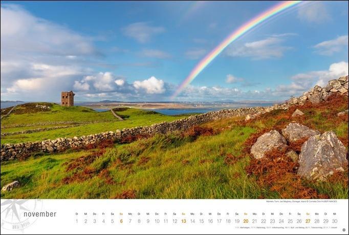 Irland Globetrotter Kalender 2022