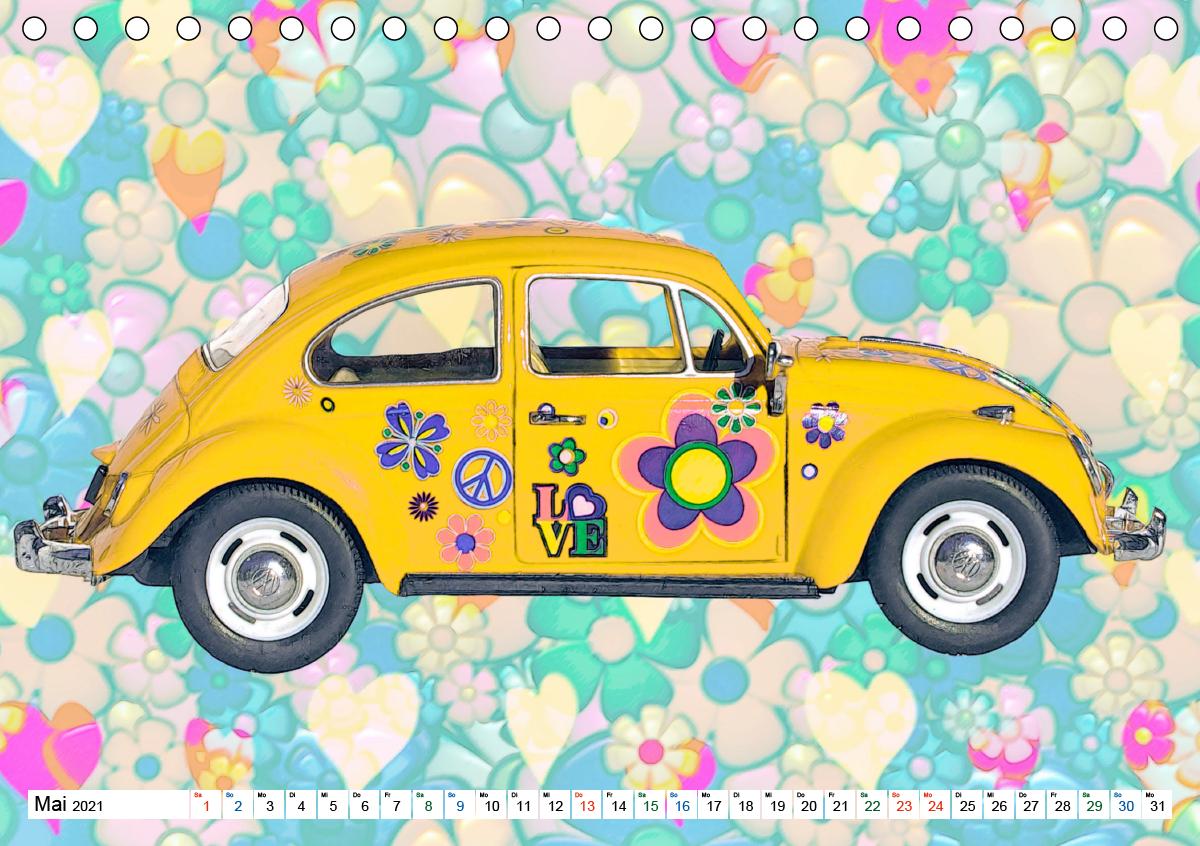 Hallo Sommer - Artwork (Tischkalender 2021 DIN A5 quer)