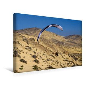 Premium Textil-Leinwand 45 cm x 30 cm quer Fuerteventura Soaring
