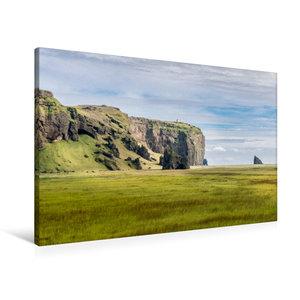 Premium Textil-Leinwand 90 cm x 60 cm quer Islands Süden