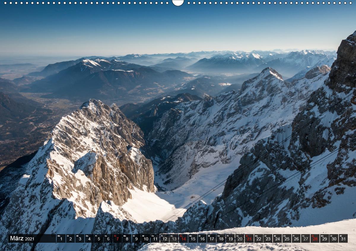 "\""Bergpixel\"" Faszination Bergwandern (Wandkalender 2021 DIN A2"