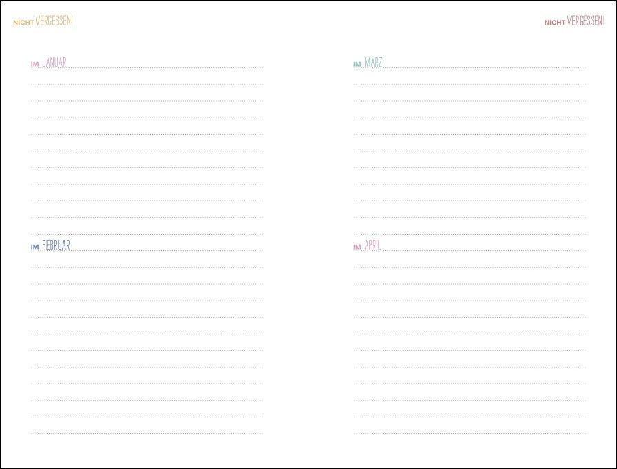Mama AG Familienplaner Buch A5 Kalender 2022