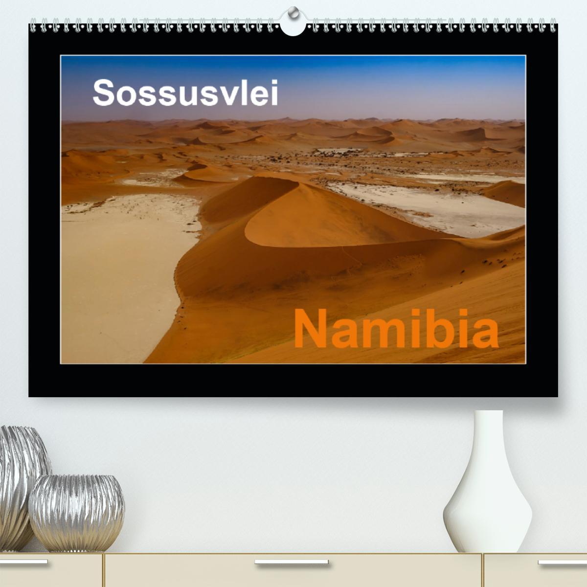 Namibia - Sossusvlei (Premium, hochwertiger DIN A2 Wandkalender
