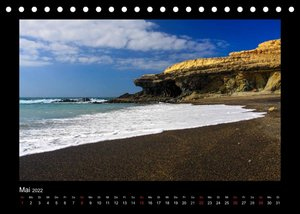 Fuerteventura die Sonneninsel (Tischkalender 2022 DIN A5 quer)