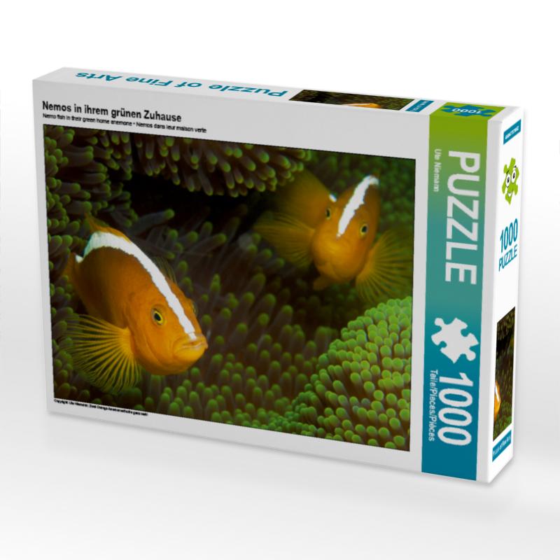 CALVENDO Puzzle Nemos in ihrem grünen Zuhause 1000 Teile Lege-Gr