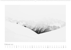 minimalistische Landschaften (AT-Version)  (Wandkalender 2022 DIN A2 quer)
