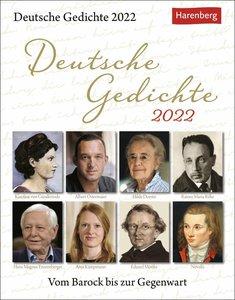 Deutsche Gedichte Kalender 2022