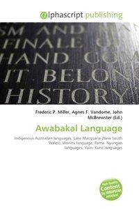 Awabakal Language