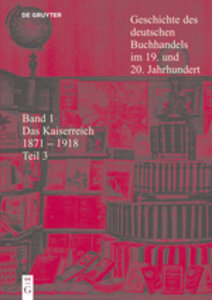 Das Kaiserreich 1871 - 1918. Tl.3