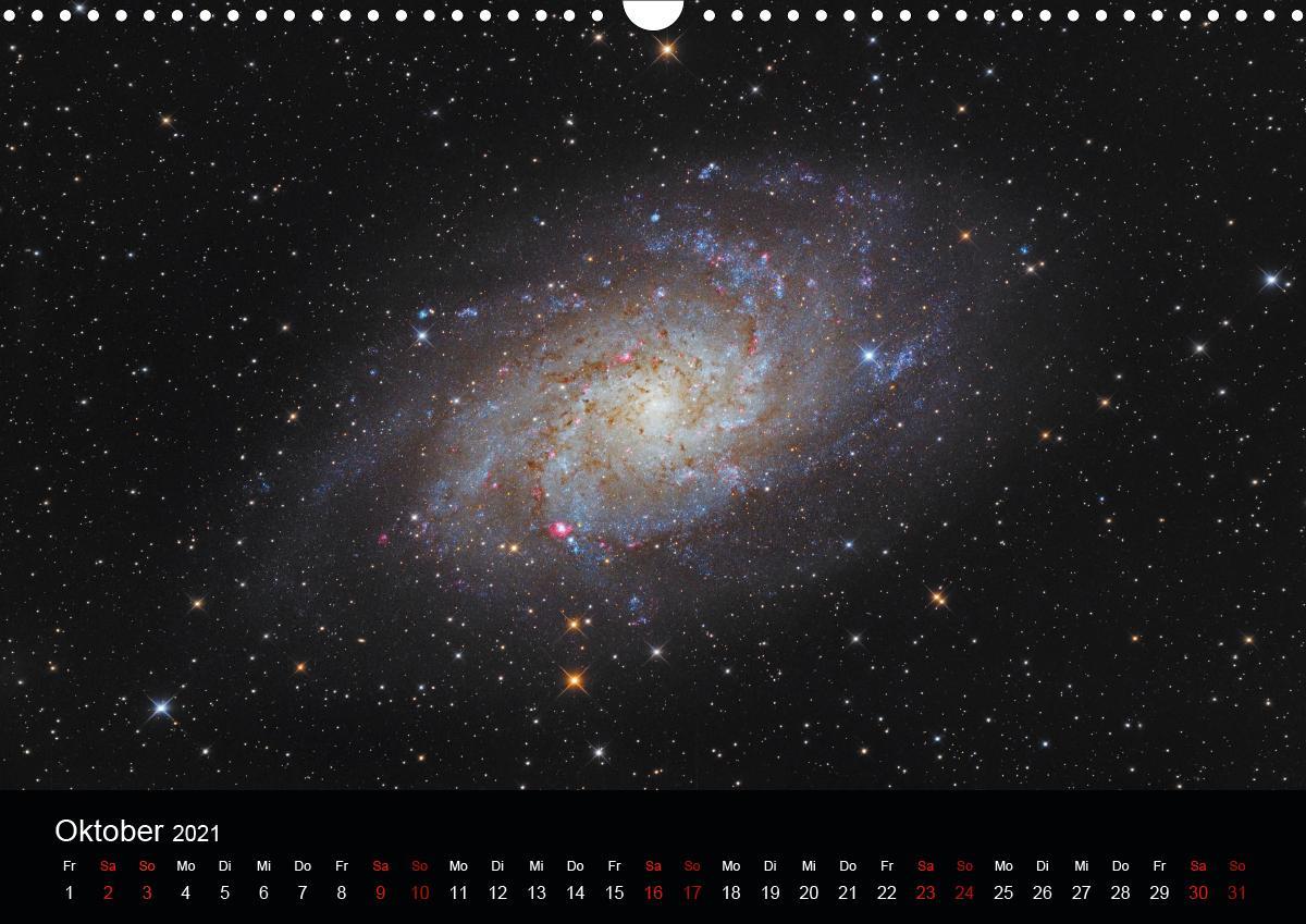 Beeindruckendes Universum (Wandkalender 2021 DIN A3 quer)