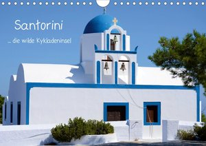 Santorini (Wandkalender 2021 DIN A4 quer)