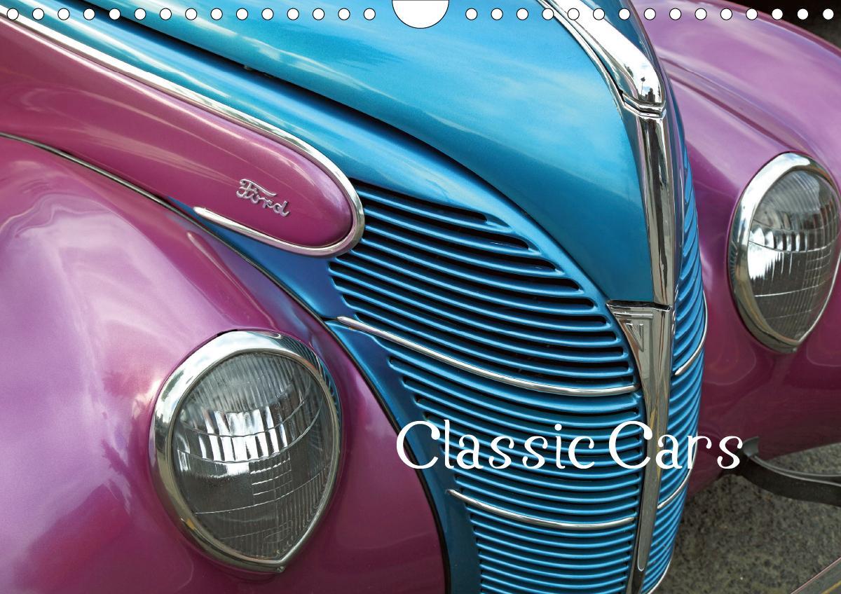 Classic Cars (Wandkalender 2021 DIN A4 quer)