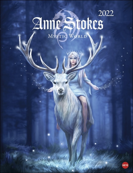 Anne Stokes: Mystic World Posterkalender 2022