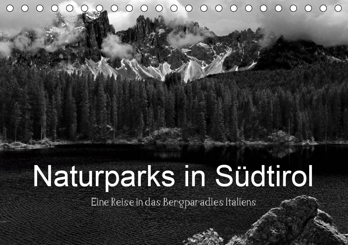 Naturparks in Südtirol (Tischkalender 2021 DIN A5 quer)