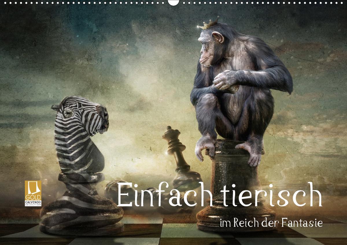 Einfach tierisch im Reich der Fantasie (Wandkalender 2021 DIN A2