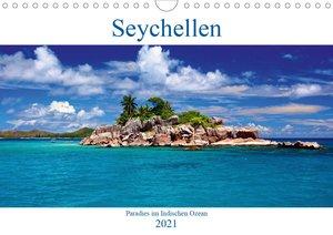Seychellen - Paradies im Indischen Ozean (Wandkalender 2021 DIN