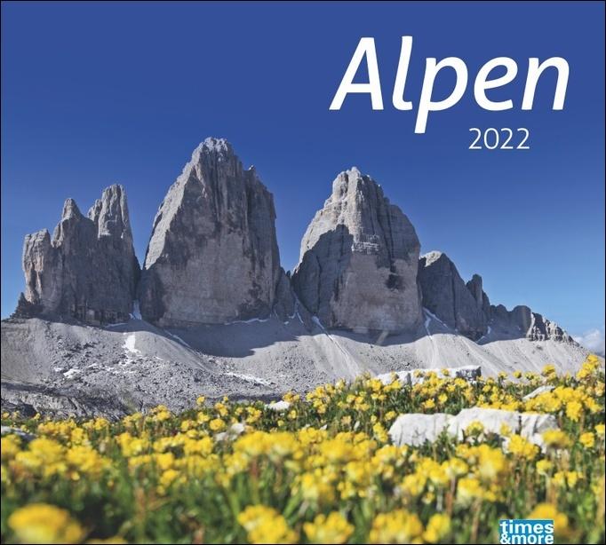 times&more Alpen Bildkalender 2022