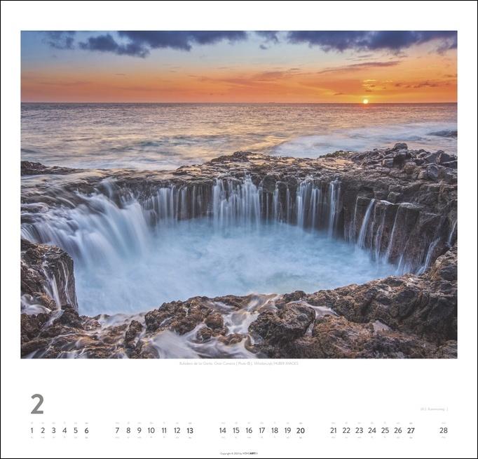 Kanarische Inseln Kalender 2022