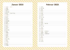Pusheen 17-Monats-Kalenderbuch A5  - 2022
